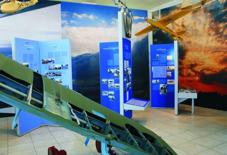 Innenansicht Flugplatzmuseum Strausberg, Foto
