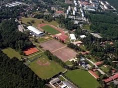Luftbildaufnahme Sport- und Erholungspark Strausberg