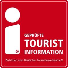 """Logo """"Geprüfte Touristinformation"""", Bild"""