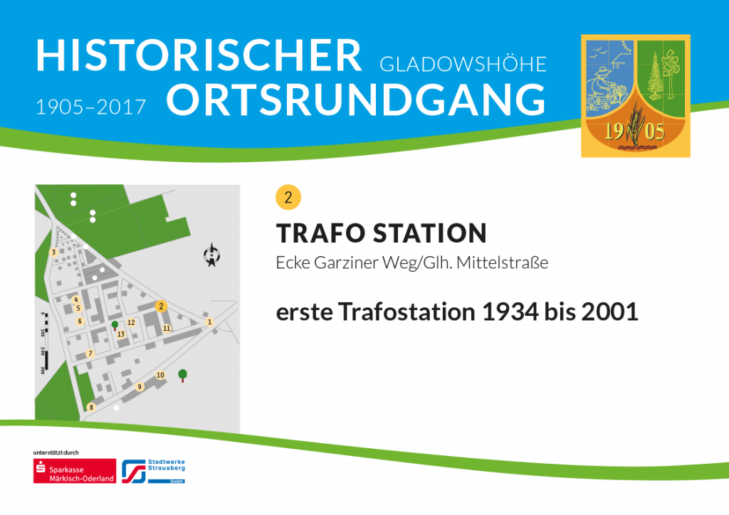 Trafo Station, Grafische Darstellung