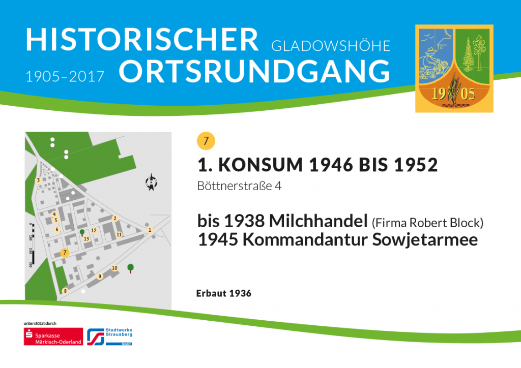 1. Konsum 1946 bis 1952