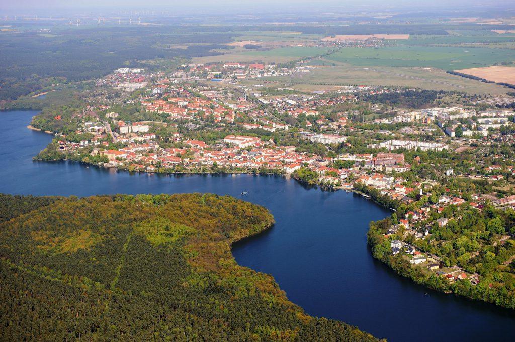 Stadt Strausberg Luftbild