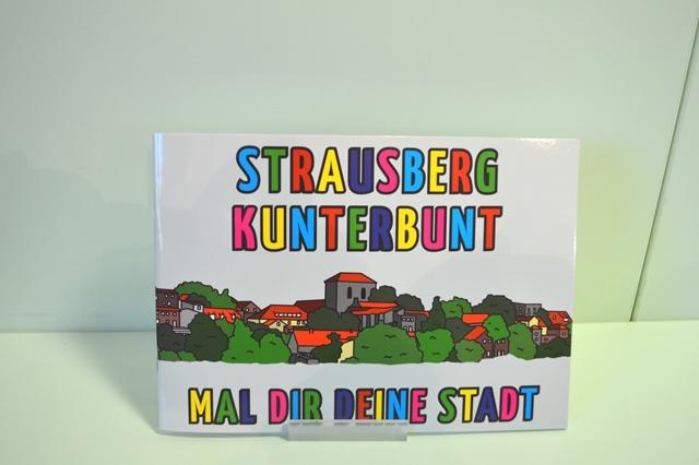 "Foto: Malbuch ""Strausberg kunterbunt"""