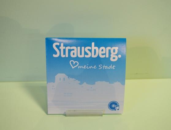 Foto: Maxi-CD mit dem Strausberglied
