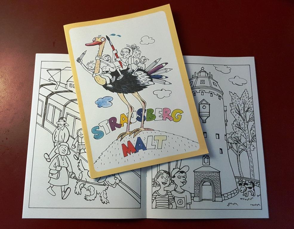 Foto: Malbuch mit Illustrationen von Barbara Henniger