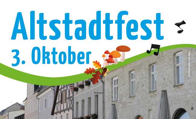 Altstadtfest am 3. Oktober